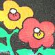 POP 昭和 花柄 スカート