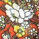 秋色 花畑 ブラウス